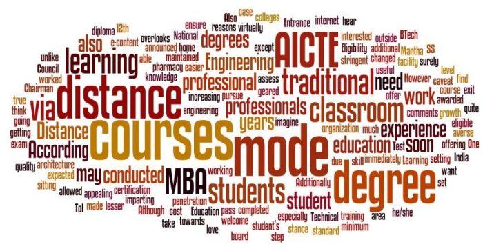 Distance education